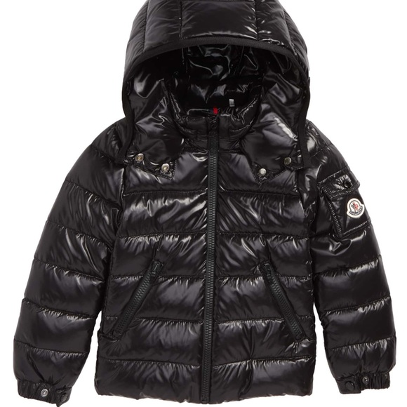 6c308c4a0 Moncler Girls Bady Guibbatto Blk Down Jacket Sz 10 NWT